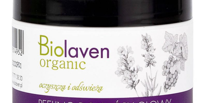 peeling do skóry główy marki Biolaven